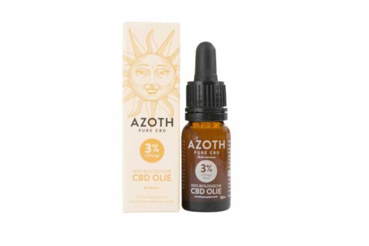 Azoth 3 Cannabidiol Cannabis Hemp Hennep Weed Oil Better Health