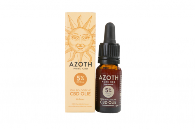 Azoth 5 Cannabidiol Cannabis Hemp Hennep Weed Oil Better Health